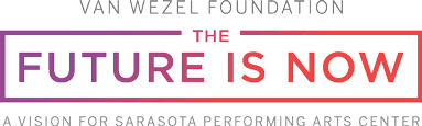 SPAC Van Wezel Foundation The Future Is Now Logo